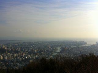 眉山から吉野川