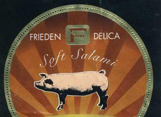 ソフトサラミの豚