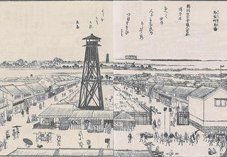 雪旦_江戸名所図会_馬喰町馬場